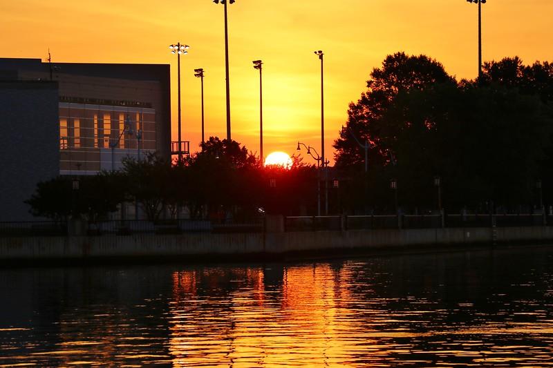 Sunrise over Naval Academy