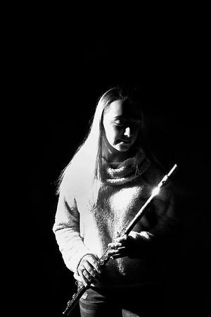 JIM VAIKNORAS/Staff photo Flutist Madison Butler
