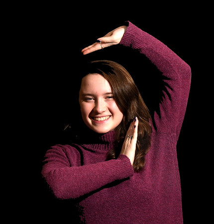 JIM VAIKNORAS/Staff photo Dancer Elisa Kennedy