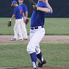 STAN HUDY - SHUDY@DIGITALFIRSTMEDIA.COM<br /> Clifton Park Gator Blue starting pitcher Greg Waldek warms-up in the early innings of Friday's Connie Mack Eastern New York State tournament at the Clifton Common Baseball Complex.