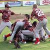STAN HUDY - SHUDY@DIGITALFIRSTMEDIA.COM<br /> It's a Mechanicville-Stillwater dog pile celebration after the squad captured the July 15, 2016 Little League 9-10 District 10_11 championship game at Mechanicville-Stillwater.