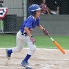STAN HUDY - SHUDY@DIGITALFIRSTMEDIA.COM<br /> Saratoga National Little League batter Louis Betit swings away during the July 15, 2016 Little League 9-10 District 10_11 championship game at Mechanicville-Stillwater.