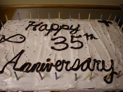 Happy 35th Anniversary Agapé!