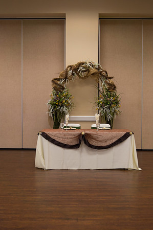 12 Venue, Rings, Cake, Decorations