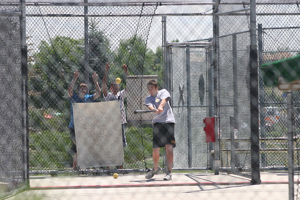 More batting cages 2009