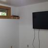 55-inch Sony TV installed....