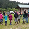 Culture Camp on the Chilkoot River Haines Alaska 2017....