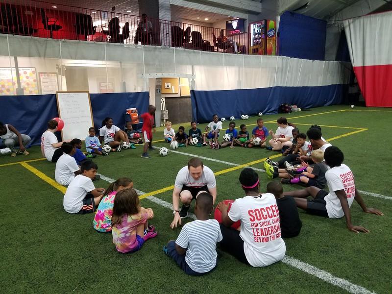 Summer Soccer Camp - Games