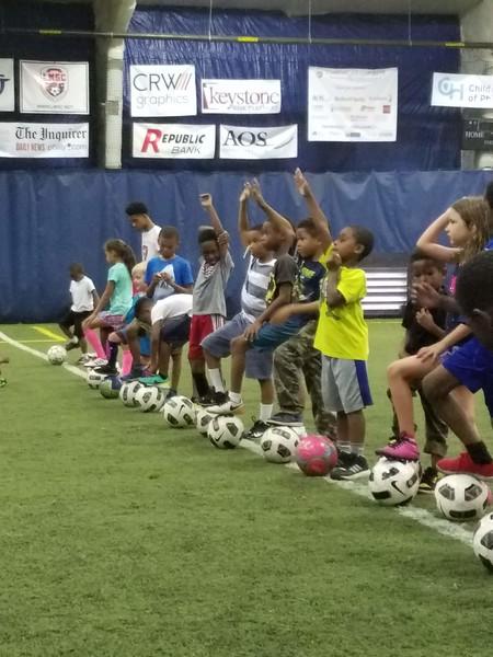 Summer Soccer Camp - Pick me!
