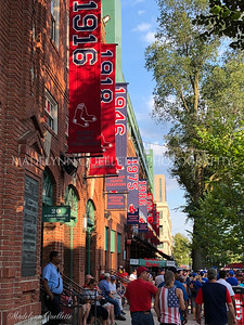 Jersey Street at Fenway Park