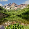 The Maroon Bells near Aspen, CO