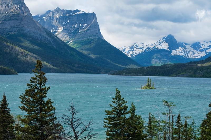 Wild Goose Island, St. Mary's Lake, Glacier National Park, Montana