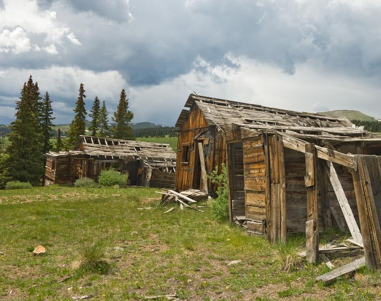 Summitville ghost town, Colorado