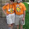 Biking twins - Brad and Kay Clatterbuck.