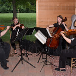 Kathryn Johnson, Emily Longaecker, Emily Allen and Christy Givan of the Commonwealth String Players.