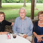 Carol and Charles Hebel and Libby Montgomery.