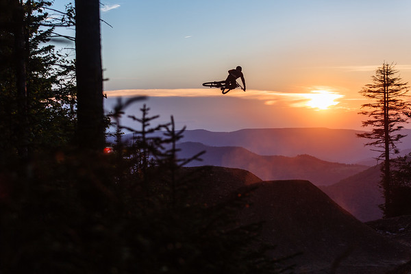 World Cup Jump Sunset Session