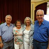 Senior Swiss Teams winners - Bernard Goldenfield, Rhona Goldenfield, Kath Nelson & Alan Nelson