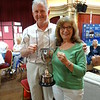 Really Easy Congress Swiss Pairs winners - Robin Levett & Hilary Levett
