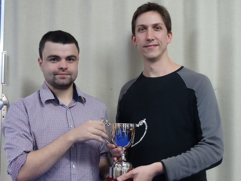 GCH Fox Pairs Championship winners - Jonny Richards & Michael Byrne