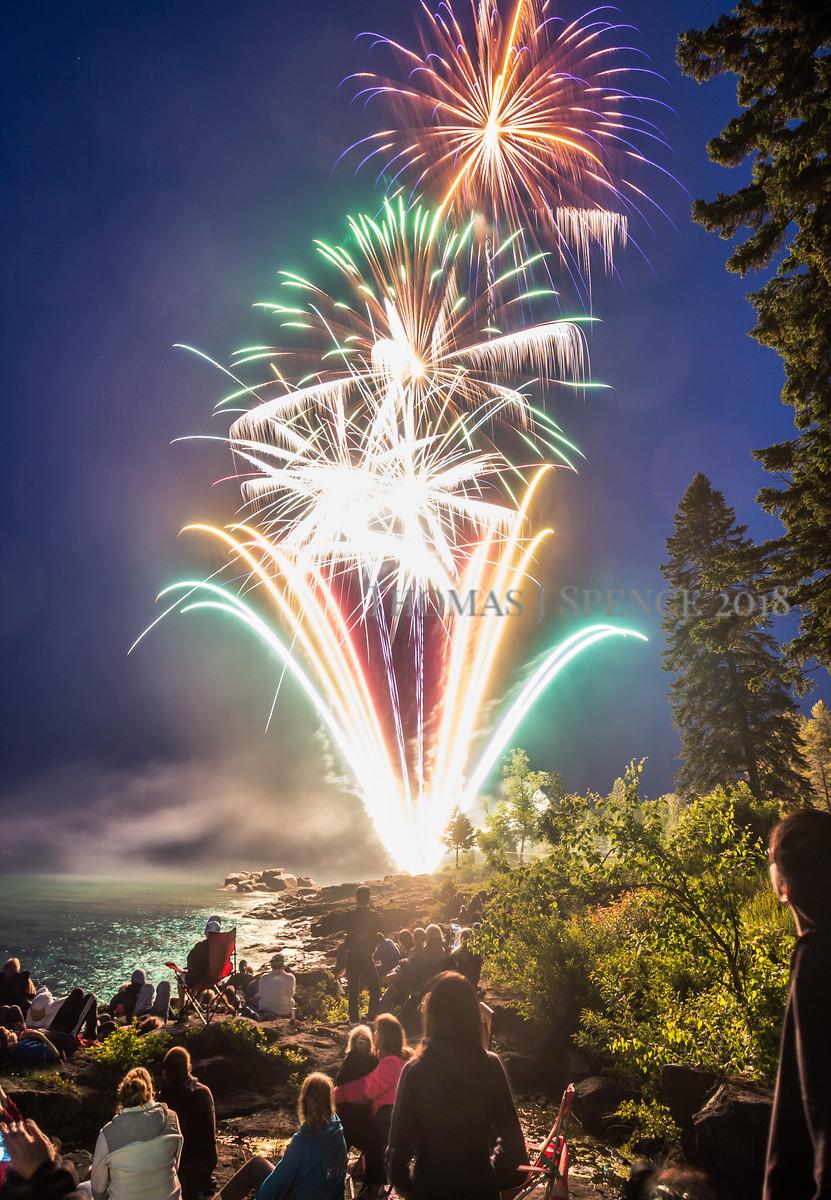 Independence Day Awe - Lake Superior
