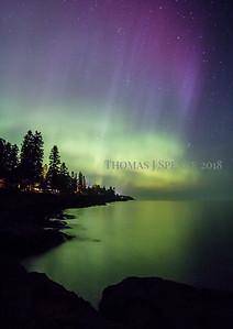 Lakeside Aurora