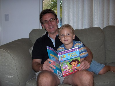 dad and finn dora book vg fixd