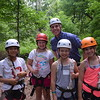 New Head of School Rich Schellhas tries out the Adventure Course!