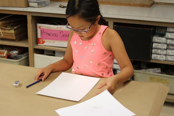 Art Quest Sr - Printmaking/Tinkering