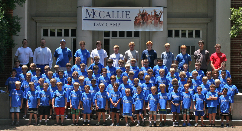2012 Day Camp Session 4 Group Photo