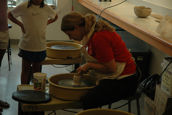 Clay Building & Pottery Camp