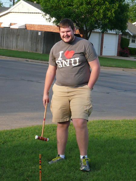 Croquet at Dr. Zoller's house