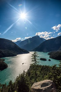 Diablo Lake, Washington Northern Cascades