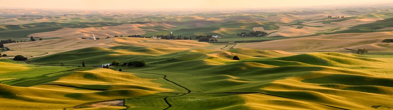 Pano from Steptoe Butte ~ Colfax, Washington