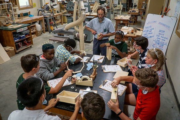 July 20: Woodshop Projects
