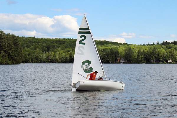July 4: Sailing on the Lake