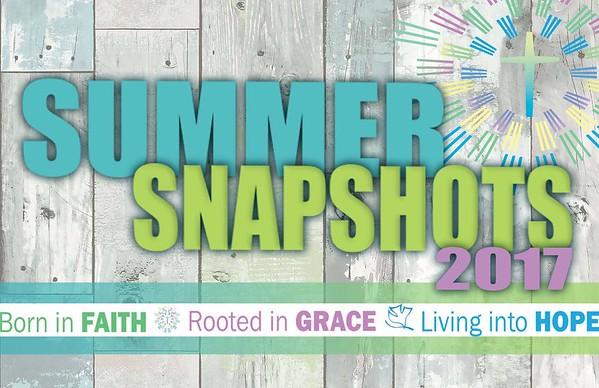 Summer Snapshots 2017