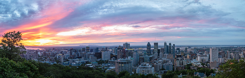 Summer Solstice Sunrise in Montreal - 2019