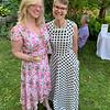 Summer beauties, Elaine Seidel of Billerica and Lowell City Councilor Karen Cirillo