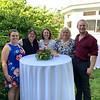 Members of the Lowell Parks & Conservation Trust,  from left, Katie Durkin of Lowell, Executive Director Jane Calvin of Westford, Leigh Cameron of Dracut, and Kathy Hirbour and Sean Cloran, both of Lowell