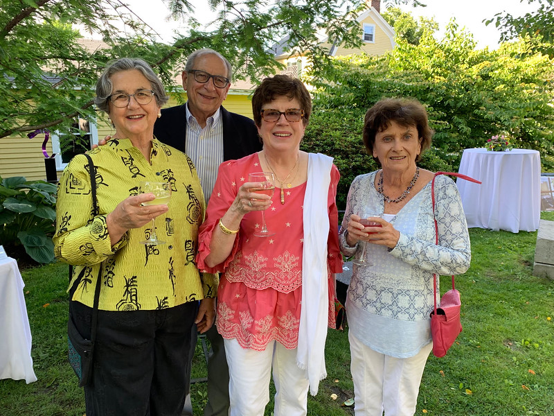 From left, Martha and Anthony Iarrapino, Stephanie Donahue and Sheila Hallissy, all of Lowell