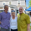 From left, Gray Fitzsimmons of Lowell, Pauline Golec of Dracut and Jim Wilde of Lowell