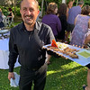 Steve Simone of Lowell serves up tasty treats for Catering by Erin McMahon.