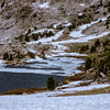 Remaining Pack Ice on the Granite Lakes
