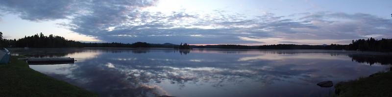 Pre-dawn on Lake  Moxie