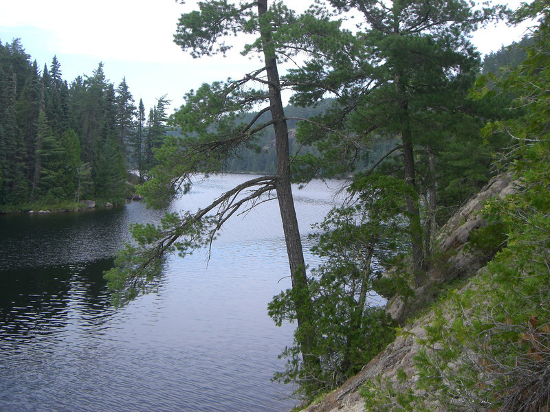 Williams Lake, from campsite on day three.