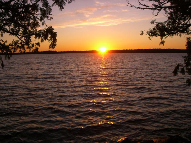 Sunset at Bayley Bay