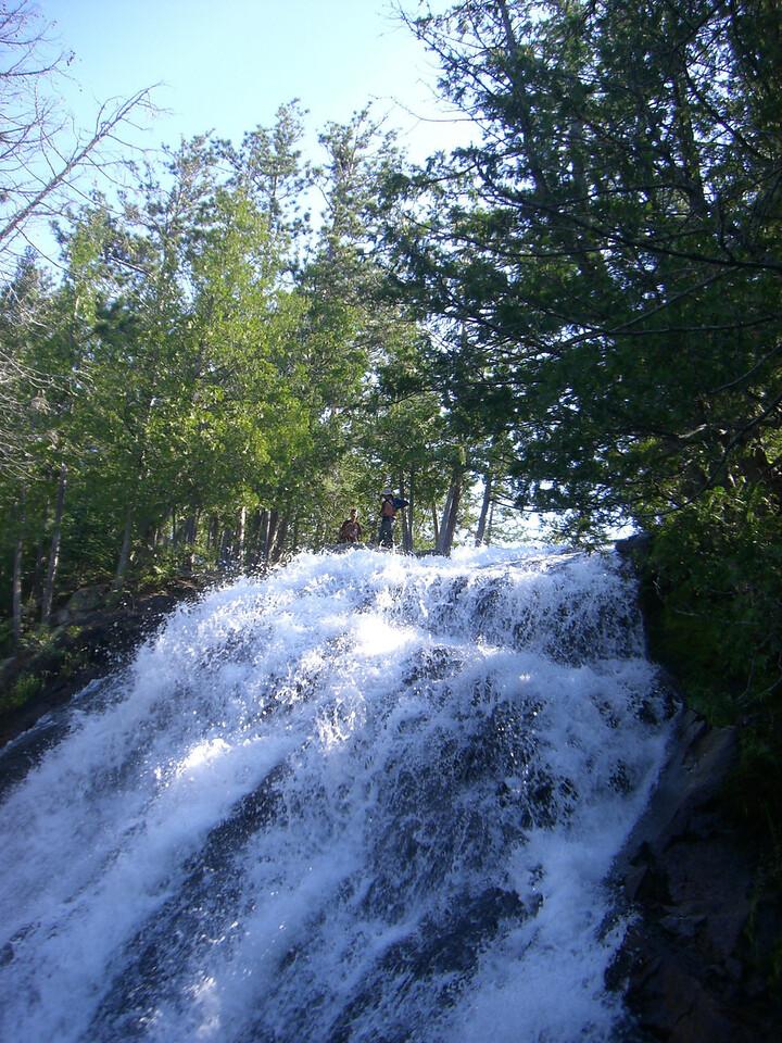 Lousia falls.