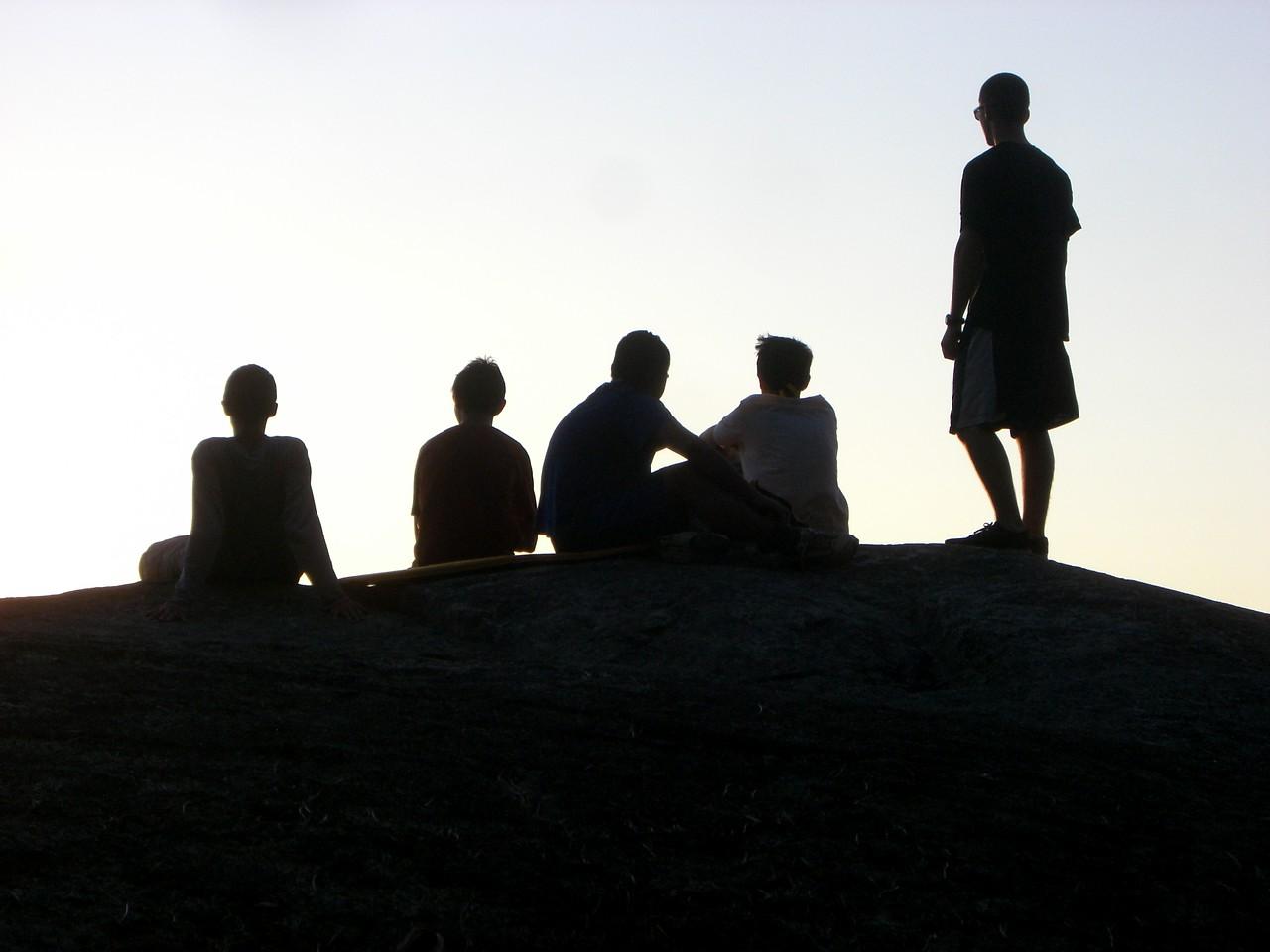 Band of Brothers.  Sundown at North Bay
