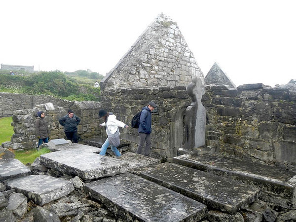 Church ruins, Aran Islands